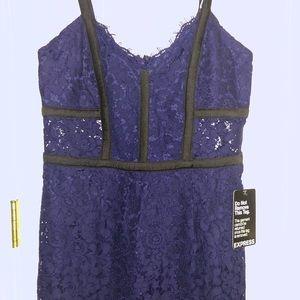 New!!! Navy blue lace dress